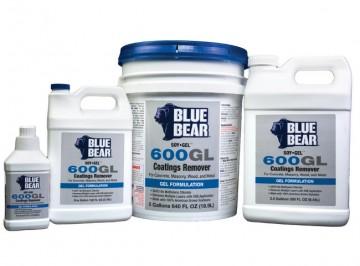 Soy Gel Blue Bear 600gl Stripper For Single Component