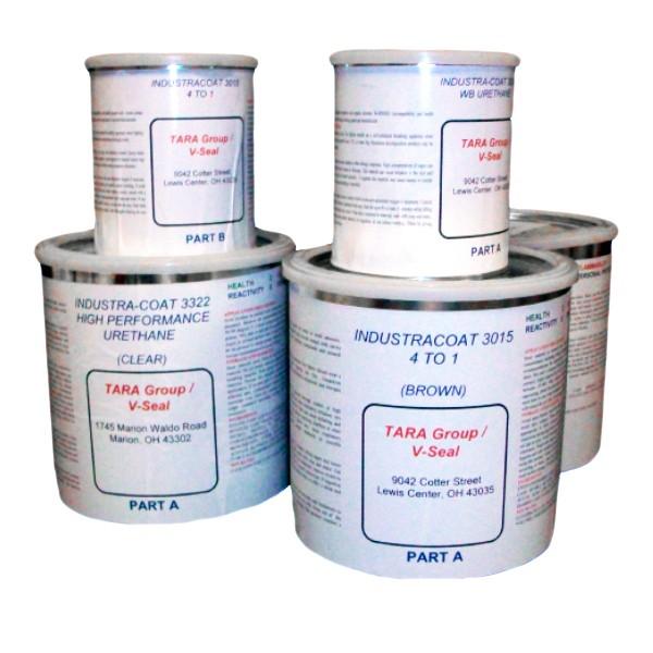 Epoxy Seal Coat : Industra coat epoxy and urethane kits