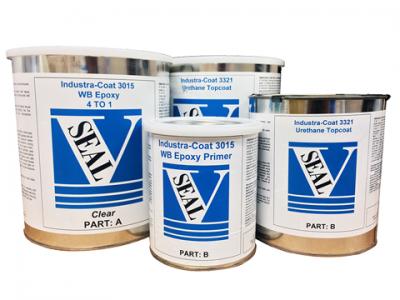 Industra-Coat Epoxy & Urethane Complete Kit-Gloss