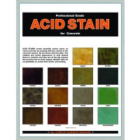 Clemons Acid Stain Color Chart