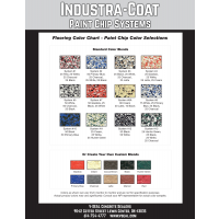 Industra-Coat Paint Chip Color Chart