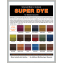 Super Dye Color Chart