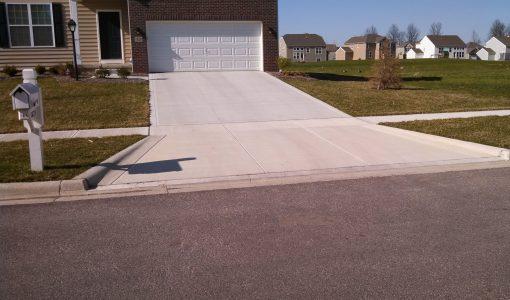 seal concrete driveway
